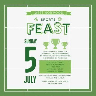 West Norwood 5th July FEAST