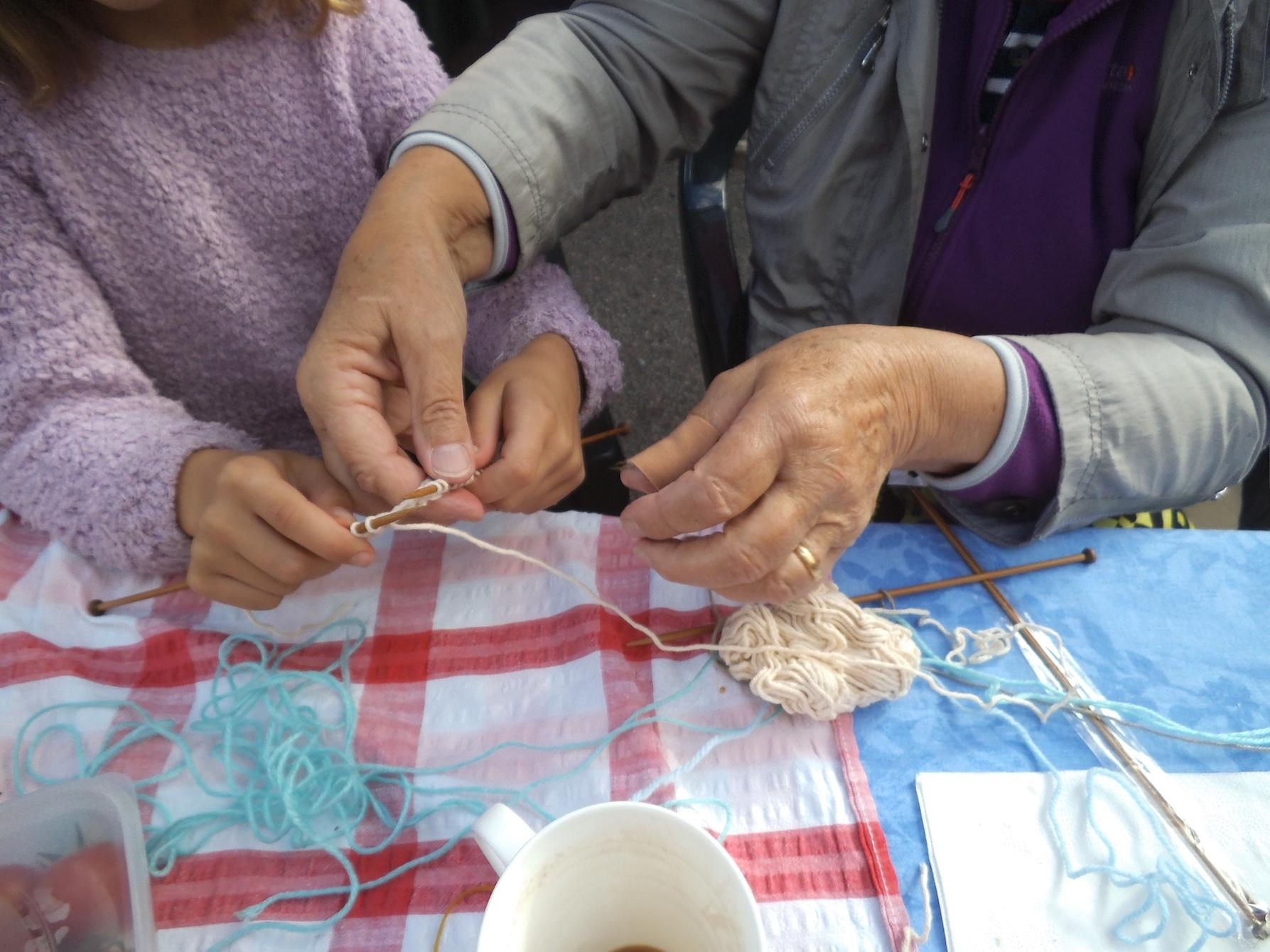 knitting-hands