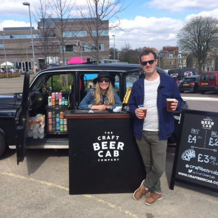 Craft Beer Cab at West Norwood Feast